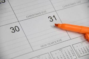 case-calendrier-31-12-surligneur