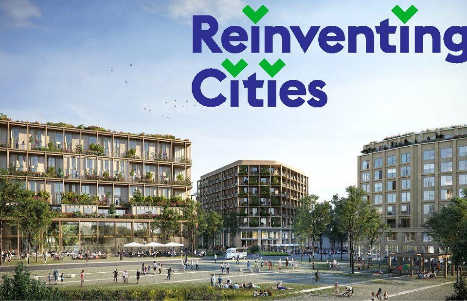 affiche reinviting cities bâtiments végétalisés